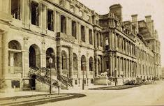 palais des tuileries après l'incendie