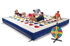 Inflatable Twister - Party Gadgets