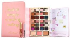 boss lady planner palette @toofaced - looks like an awesome treat for me to put me in a holiday mood in December!~k