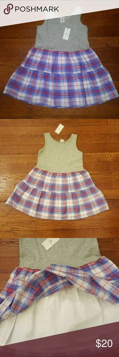 Gap plaid dress Brand new sleeveless plaid dress with lining GAP Dresses Casual