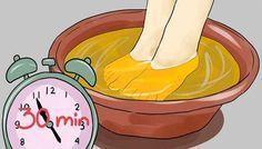 Elle plonge ses pieds dans du vinaigre de cidre 1 fois par semaine. Le Résultat Est Étonnant!