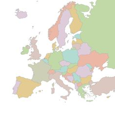 European word translator takes your word(s) and displays the translation on the map in the language the citizens speak there.