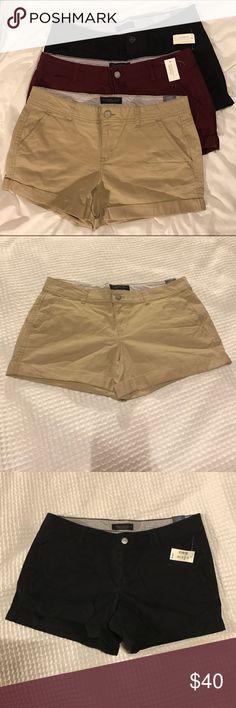 Aeropostale Midi Twill Shorts All new with tag Shorts bundle. 3 1/2 inch inseam. All size 10. Originally $39.50 a pair. Aeropostale Shorts