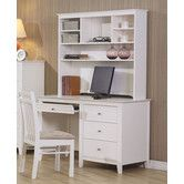 Found it at Wayfair - Wildon Home ® Wildon Home Twin Lakes Computer Desk with Hutch