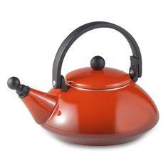 Le Creuset 1.6-Quart Zen Tea Kettle in Red - BedBathandBeyond.com