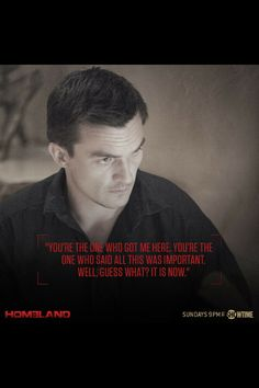 Cheers to the new upcoming season of Homeland because Peter Quinn is alive