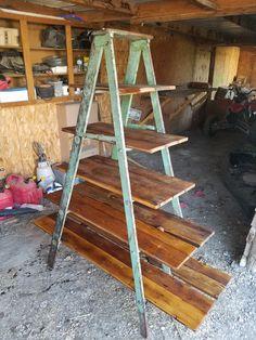 35 Essential Shelf Decor Ideas 2019 - 35 Essential Shelf Decor Ideas (A Guide to Style Your Home) # # - Ladder Display, Ladder Shelf Diy, Ladder Decor, Book Shelf Diy, Plant Ladder, Antique Ladder, Vintage Ladder, Ideias Diy, Ux Design