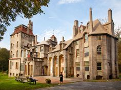While many castle owners filled their estate with priceless works of art, tile maker Henry Chapman Mercer filled Fonthill with tiles. But not just any tiles: Colorful decorative tiles line the walls, cover the floors, and adorn its dramatic, arched ceilings. Throw in medieval and gothic elements, narrow passageways, and winding staircases, and the result is a one-of-a-kind, eclectic hodgepodge. Guided tours are available year-round, including specialty tours for families and tile-centric tours. #Pennsylvania #iGottaTravel