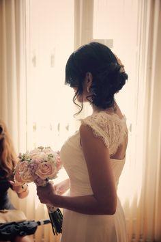 Contraluz de Andreina. Preciosa novia. Boda de Andreina&Gerardo.