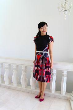 "The ""Asymmetrical Geometric"" dress - stunning!"