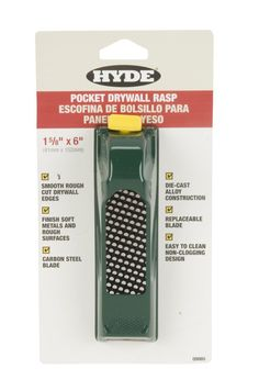 "HYDE 09985 Pocket Drywall Rasp, 1-5/8"" x 6"""