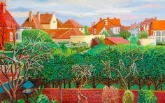 David Hockney - Bridlington Rooftops, October, November, December, 2005 - Private Collection