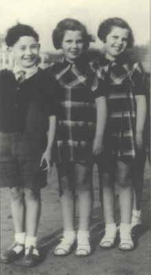 Arlette and Liliane Bloch were deported to Auschwitz in 1944 and used for twins experiments. Neither of them survived. We can never allow such evil to happen again.