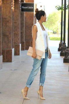 #moda #casual #chaleco