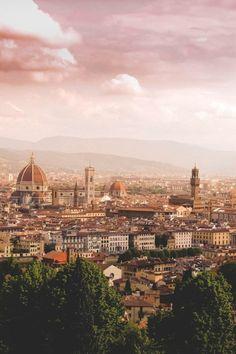 toscane tourisme, florence italie, une jolie vue vers la ville