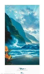 """Visions of Paradise"" - Beach and Coastal Views posters and prints available at Barewalls.com"