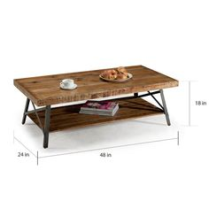 Rustic Reclaimed Wood Coffee Table | Overstock.com Shopping - The Best Deals on Coffee, Sofa & End Tables