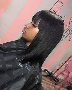 Classic Brunette Balayage - 20 Inspirational Long Choppy Bob Hairstyles - The Trending Hairstyle Quick Weave Hairstyles, Choppy Bob Hairstyles, Long Bob Haircuts, Long Hairstyles, Ponytail Hairstyles, Pretty Hairstyles, Hairstyles Pictures, Summer Hairstyles, Updo