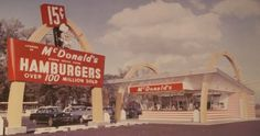 15 cent McDonald's hamburgers! I remember my first burger & fries. Back of the station wagon...had to be 1964 or so. Went with my sisters & my mom & our friends Adrian & her kids Terry & Victor!