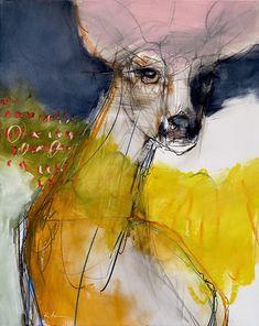 Abstract Animals, Abstract Art, Nature Drawing, Wild Creatures, Animal Paintings, Spirit Animal, Pet Portraits, Mixed Media Art, Art Inspo