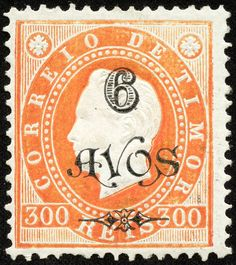 Timor 1902 Scott 86 on orange On Issue of Surcharged in Black Dutch East Indies, Coast Australia, Stamp Collecting, Postage Stamps, Printmaking, 1, Coins, Orange, World