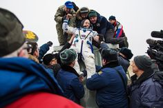 Welcome Home, Scott Kelly. Now Let's Go to Mars |  NASA/Bill Ingalls | From WIRED.com