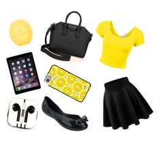Designer Clothes, Shoes & Bags for Women Casetify, Givenchy, Topshop, Shoe Bag, Yellow, Polyvore, Stuff To Buy, Shopping, Collection