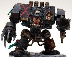 Blood Angels Mars Pattern Mark V Furioso Dreadnought of the Death Company