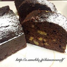 【糖質制限中】おからココアパウンドケーキ