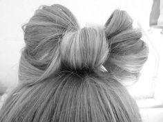 lazitos a tuti plen Liz Minelli, Cute Fashion, Fashion Beauty, Gorgeous Hair, Beautiful, Amazing Hair, Top Knot, How To Make Bows, Pretty Hairstyles
