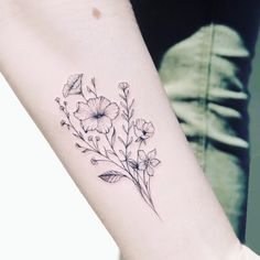 lovely flower tattoo suitable for women 17 ~ Modern House Design Finger Tattoo – Top Fashion Tattoos