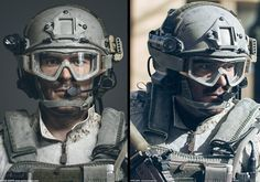 Peter Zoppi / DEVGRU head making of – Texturing.xyz