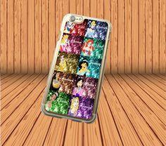 Disney Princess Sparkle for iPhone 5/5S/SE Hard Case Cover Laser Technology #designyourcasebyme