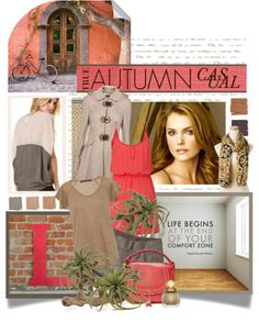 """True Autumn Casual"" by spicemarket ❤ liked on Polyvore"