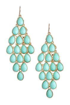 Brittney Chandelier Earrings by Go Bright: Jewelry Event on @HauteLook