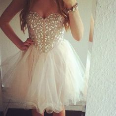 a short prom dress I actually like