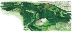 Country park 3D map from Fitzpatrick Woolmer