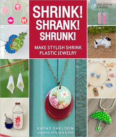 Shrinky Dinks DIY: Custom Earrings With Your Favorite Characters (Shrink! Shrinky Dinks, Book Crafts, Fun Crafts, Craft Books, Plastic Fou, Plastic Craft, Craft Projects, Projects To Try, Craft Ideas