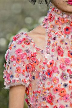 Chanel Couture Spring Summer 2018 - Detail