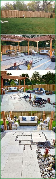 Turn a large backyard into an outdoor living space by creating zones. www.bestcoasthandyman.com/deck-repair/
