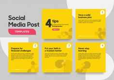 Social media post template with geometri. Social Media Ad, Social Media Template, Social Media Design, Web Banner Design, Web Design, Web Banners, Graphic Design Lessons, Feeds Instagram, Best Banner