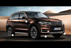 2014 BMW X5, leaked in a scale model brochure