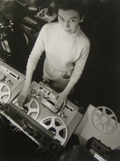 To go through: a stack of resources about Delia Derbyshire, the pioneering sound designer behind the earliest Doctor Who incarnations.