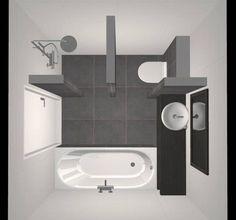 Small Bathroom with Shower, Bath, Washbasin and Toilet – Design – Beniers Bathroom … Kleines Badezimmer mit Dusche, Badewanne, Waschbecken und Toilette – Design – Beniers … – Bathroom Toilets, Bathroom Renos, Bathroom Renovations, Bathroom Interior, Bathroom Makeovers, Toilette Design, Small Bathroom Layout, Bathroom Photos, Bathroom With Shower And Bath