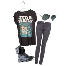 A Star Wars inspired outfit.
