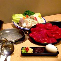 eat savory and authentic shabu-shabu meal at Thousand Cranes. This beef tenderloin set shabu-shabu is appetite's delight! Shabu Shabu, Beef Tenderloin, Griddle Pan, Menu, Food, Filet Mignon, Menu Board Design, Sirloin Tip Roast, Grill Pan