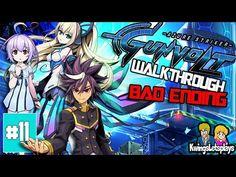 Azure Striker Gunvolt Walkthrough Part 11 Nova Battle and Bad ENDING - YouTube