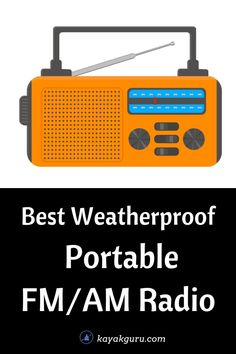 We look at the best FM/AM Radios for outdoor trips (like kayaking, canoeing and fishing). Featuring weatherproof radios designed to cope with the elements. Radios include: 1: Sangean LB-100 Ultra Rugged Compact AM/FM Radio (best overall) 2: Dolphin LX-20 Dual Portable Bluetooth Waterproof Tube Speaker (best bluetooth radio) 3: Kaito KA500 Voyager 5-Way Powered Emergency Radio (best for emergencies) 4: Ion Audio Tailgater Express AM/FM Speaker (best for sound) Kayak For Beginners, Emergency Radio, Radio Design, Bass Fishing, Canoe, Kayaking, Outdoor, Outdoors, Kayaks