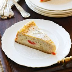 Having diabetes doesnt mean you have to give up desserts. Try these sweet treats, including diabetic cakes, cookies, and cobblers, updated just for you. Italian Cheesecake, Light Cheesecake, Best Cheesecake, Cheesecake Desserts, Köstliche Desserts, Delicious Desserts, Dessert Recipes, Diabetic Cake, Diabetic Desserts