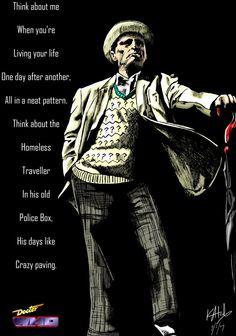 The Seventh Doctor - Sylvester McCoy